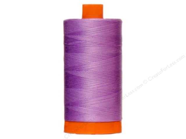 Aurifil Mako Cotton Quilting Thread 50 wt. #2520 Violet 1420 yd.