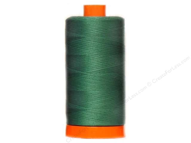 Aurifil Mako Cotton Quilting Thread 50 wt. #4129 Hemlock Green 1420 yd.