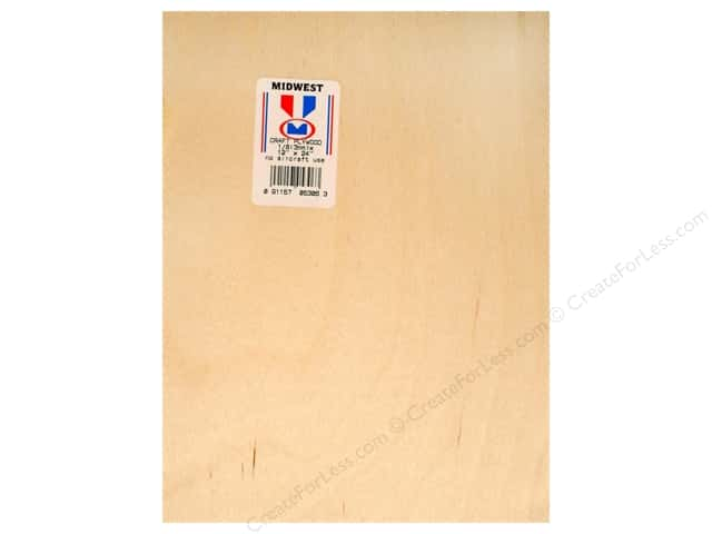"Midwest Craft Plywood 1/8""x 12""x 24"" (6 pieces)"