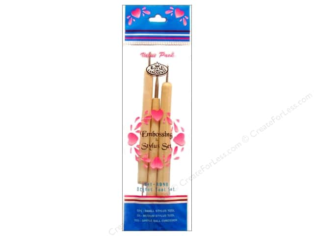 Royal Embossing & Stylus Set 3 pc.