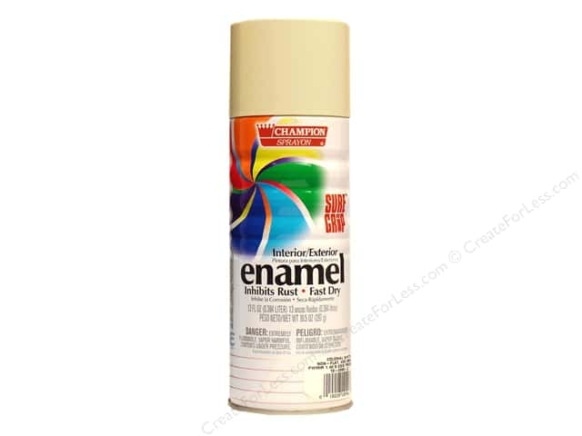 Chase Champion Premium Enamel Spray Paint 10.5 oz. Colonial White