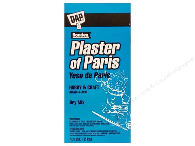 DAP Plaster of Paris Dry Mix 4.4 lb Box