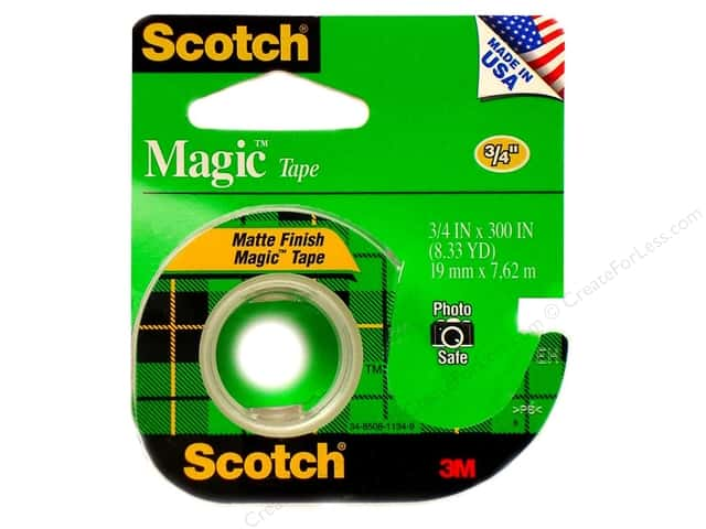 "Scotch Tape Magic 3/4""x 300"""