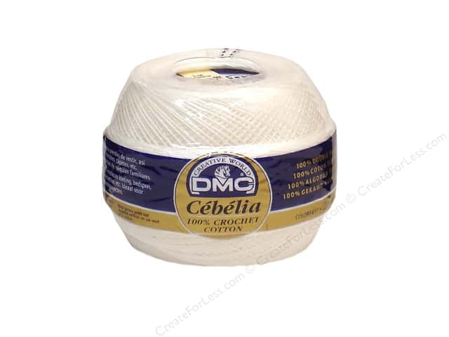 DMC Cebelia Crochet Cotton Size 30 White