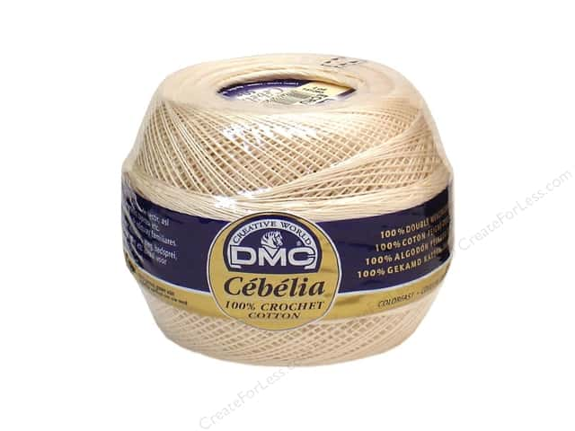 DMC Cebelia Crochet Cotton 50gm Size 30 Ecru