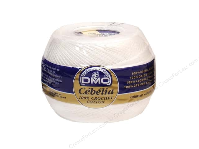 DMC Cebelia Crochet Cotton Size 30 #B5200 Snow White