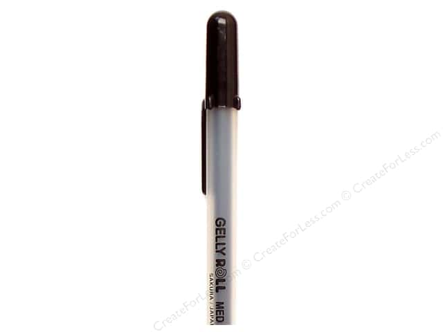 Sakura Gelly Roll Pen Medium Point Black (3 pieces)