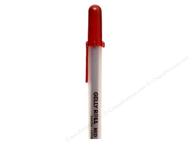 Sakura Gelly Roll Pen Medium Point Burgundy