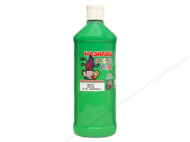 Palmer Washable Poster Paint 16 oz. Green