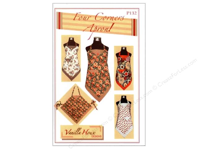 Vanilla House Four Corners Apron Pattern