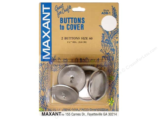 Maxant Cover Button Kit 1 1/2 in. 2 pc.