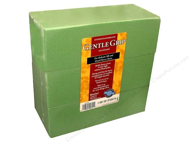 FloraCraft Desert Foam 3 x 4 x 8 in. Green
