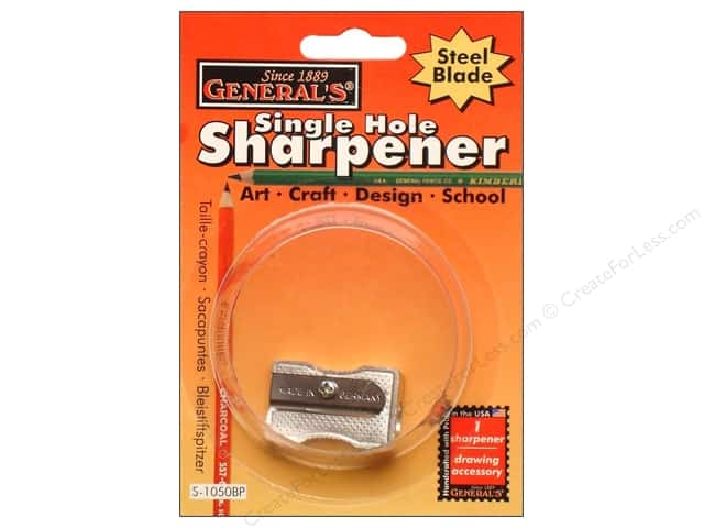 General's Sharpener Metal Single Hole