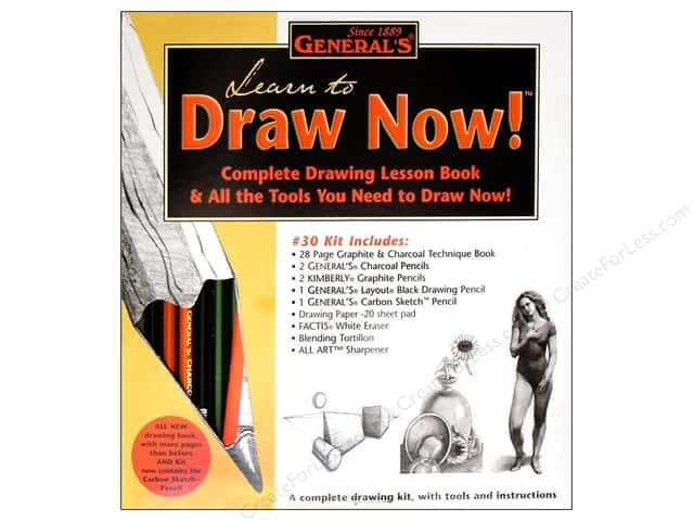 General's Drawing Kit Learn to Draw Now