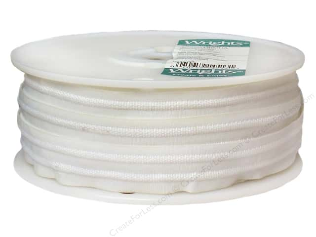 Wrights 2-Cord Shirring Tape 1 in. White 36 yd (36 yards)