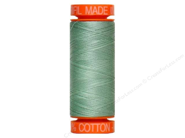 Aurifil Mako Cotton Quilting Thread 50 wt. #2845 Dusty Moss 220 yd.