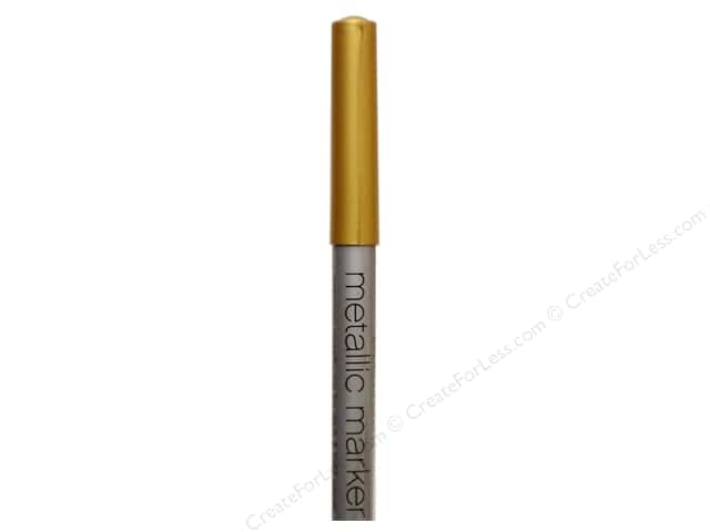 American Crafts Metallic Marker Broad Tip Gold