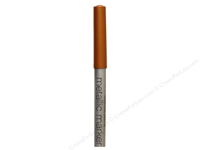 American Crafts Metallic Marker Broad Tip Copper