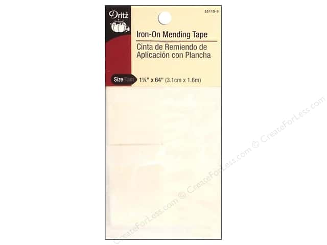 Iron-On Mending Tape by Dritz White 1 1/4 x 64 in.
