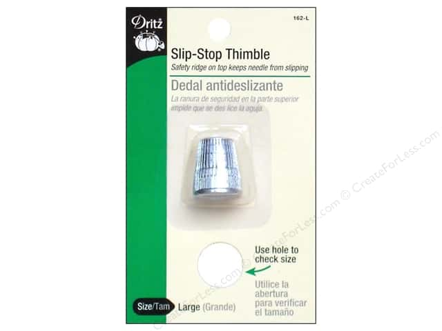 Slip Stop Thimbles by Dritz Large