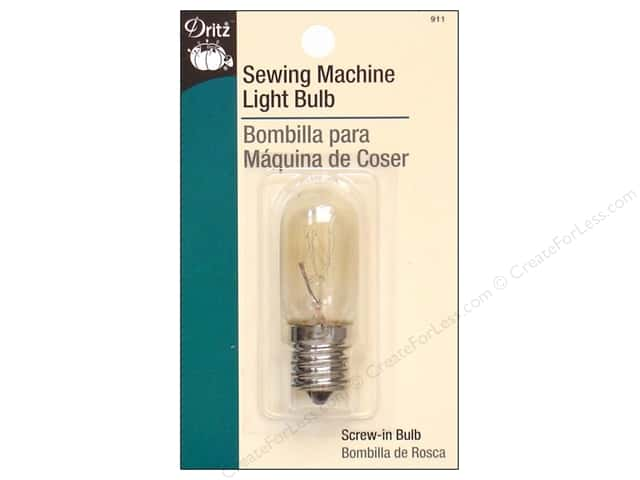 Sewing Machine Light Bulb by Dritz Screw-In Base