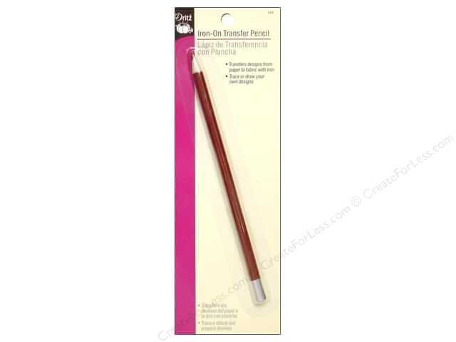 Dritz Iron-On Transfer Pencil - Raspberry