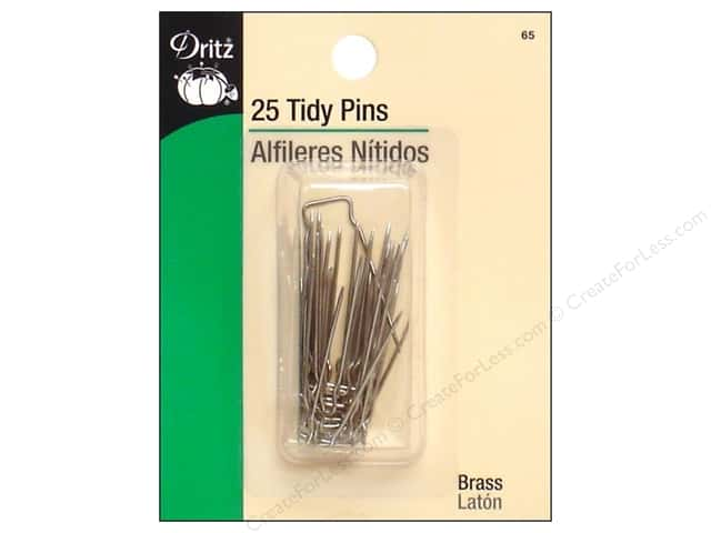 Tidy Pins by Dritz 25pc.