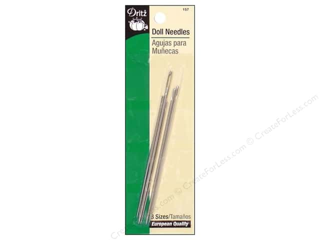 Doll Needles by Dritz 5pc