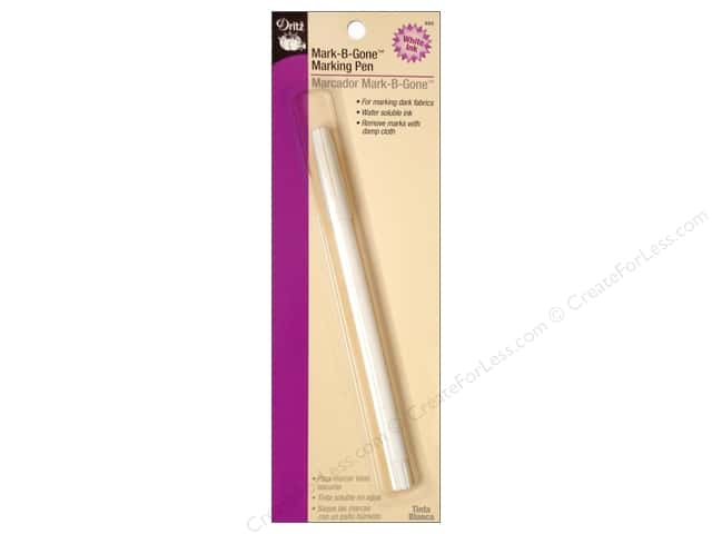 Mark-B-Gone Marking Pen by Dritz White 1pc.