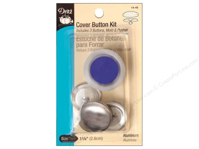 Cover Button Kit by Dritz 1 1/8 in.