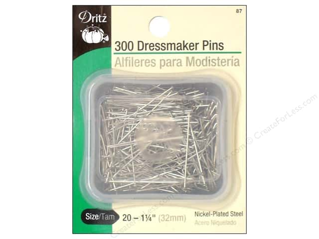 Dressmakers Pins by Dritz Size 20 300pc.