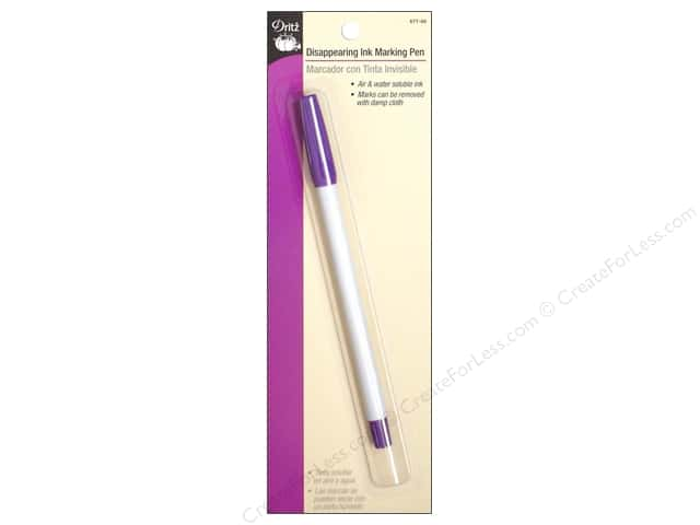 Dritz Disappearing Ink Marking Pen - Purple
