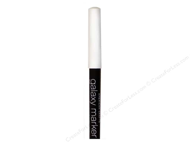 American Crafts Galaxy Marker Broad Tip Bright White