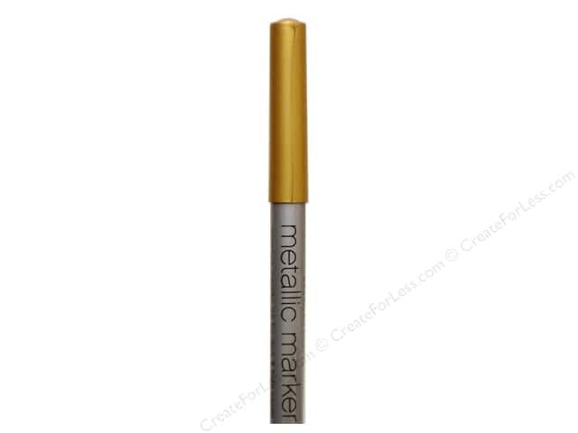American Crafts Metallic Marker Medium Tip Gold