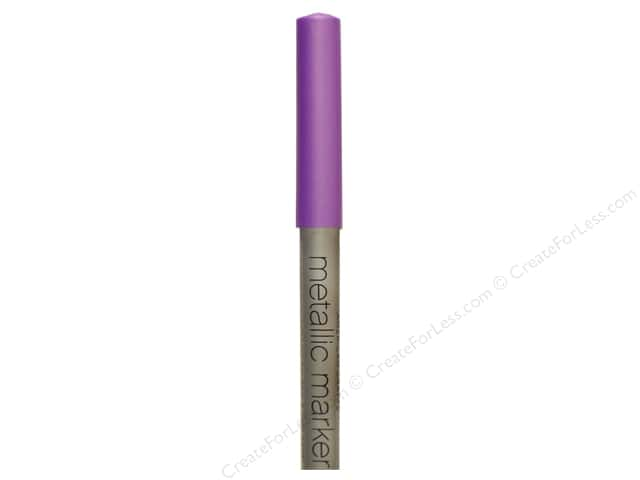 American Crafts Metallic Marker Medium Tip Violet