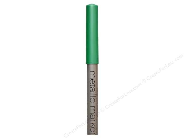 American Crafts Metallic Marker Medium Tip Teal