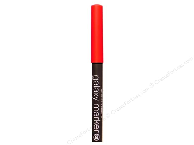 American Crafts Galaxy Marker Broad Tip Bright Red