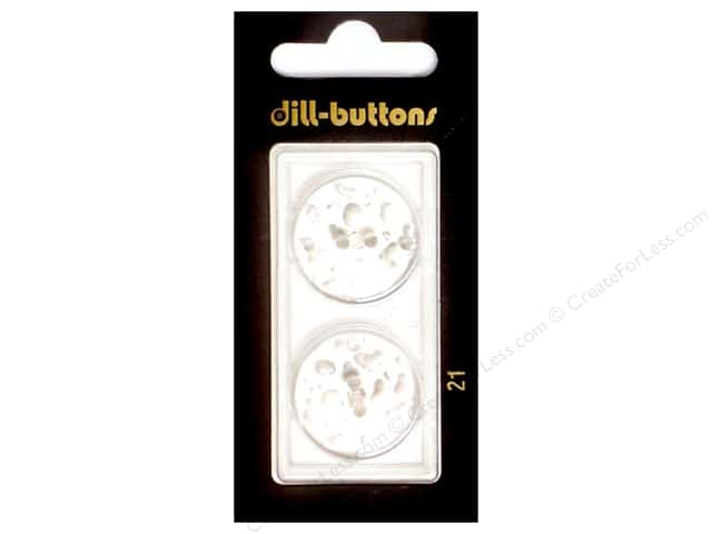 Dill Shank Buttons 7/8 in. Transparent #21 2pc.