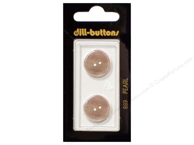 Dill 2 Hole Buttons 11/16 in. Beige Mother of Pearl #889 2pc.