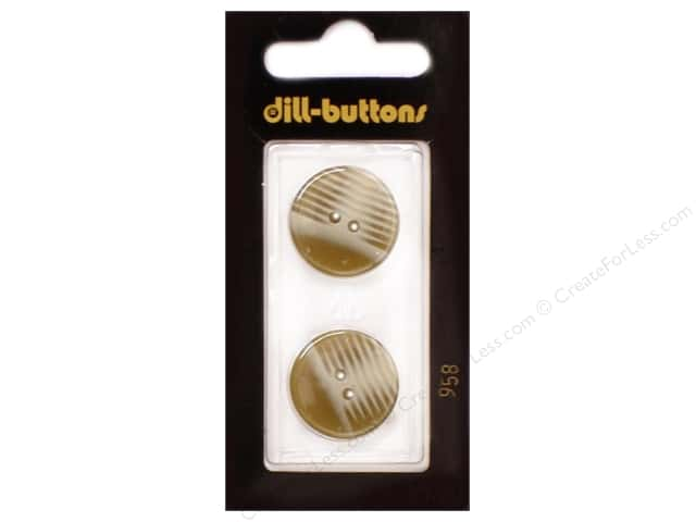 Dill 2 Hole Buttons 13/16 in. Beige #958 2pc.