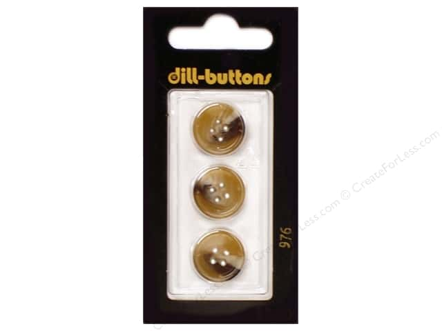 Dill 4 Hole Buttons 5/8 in. Beige #976 3pc.