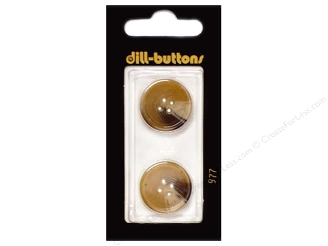 Dill 4 Hole Buttons 13/16 in. Beige #977 2pc.