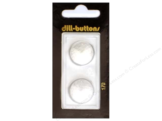 Dill Shank Buttons 3/4 in. Pure White #170 2pc.