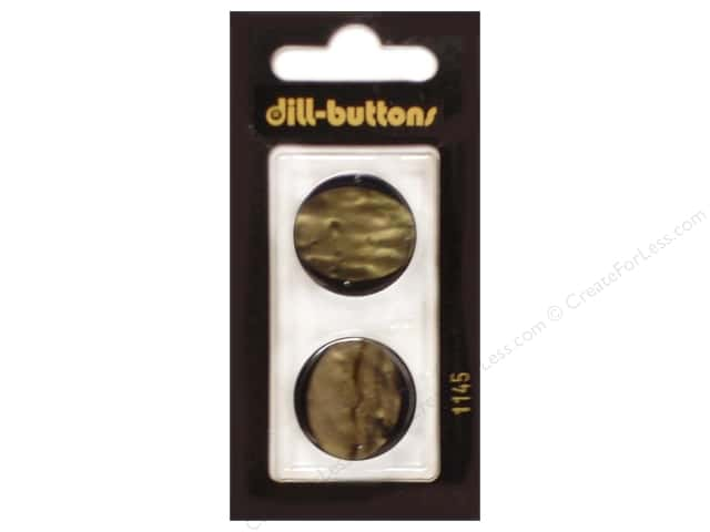 Dill Shank Buttons 7/8 in. Brown #1145 2pc.