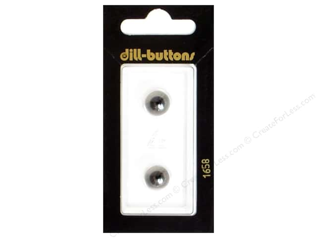 Dill Shank Buttons 3/8 in. Transparent #1658 2pc.