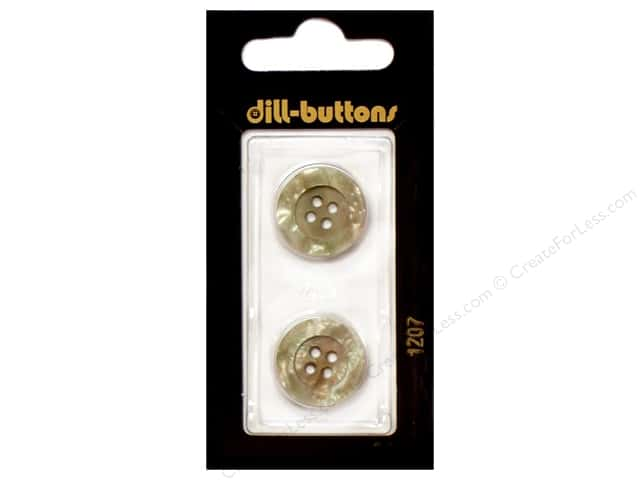 Dill 4 Hole Buttons 11/16 in. Beige #1207 2pc.