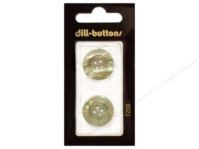 Dill 4 Hole Buttons 13/16 in. Beige #1208 2pc.