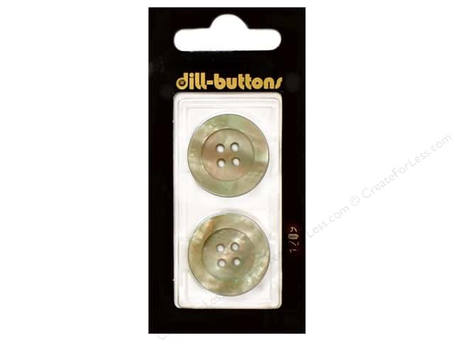Dill 4 Hole Buttons 7/8 in. Beige #1209 2pc.