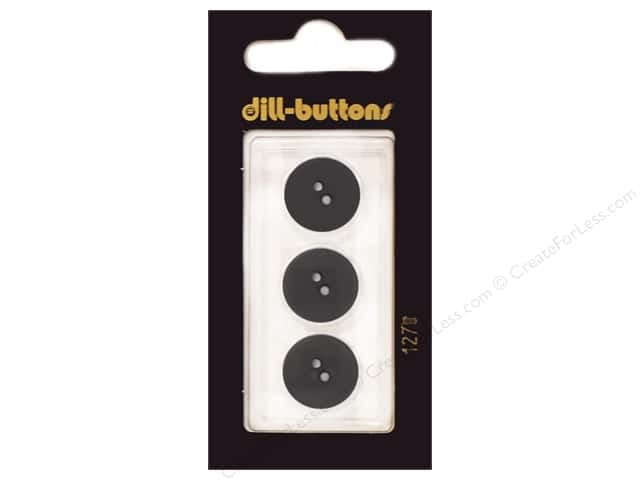 Dill 2 Hole Buttons 5/8 in. Dark Green #1270 3pc.