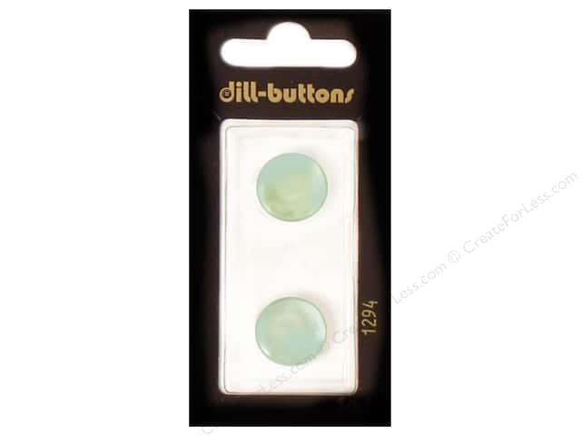 Dill Shank Buttons 5/8 in. Blue #1294 2pc.